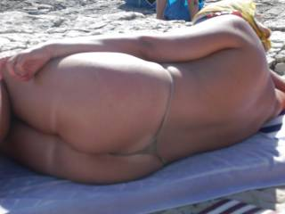 Back side,is also very sexy....hot...!!! Come to Greece.....and enjoy the beaches,and.....many more hot things......