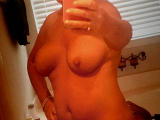 Milf is smoking hot , hope you share her