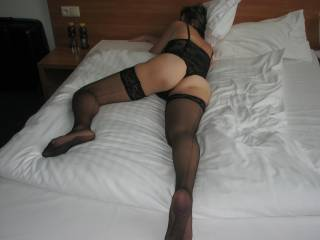 that is very sexy nice hot fucking ass love the lingerie