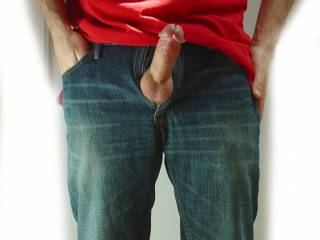 Sometimes it\'s hard to keep my cock in my pants.