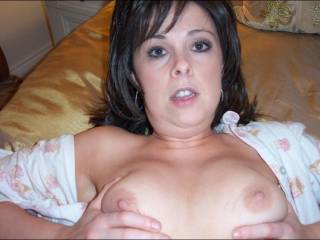 very pretty woman.....i could cum allover those gourgeous tits