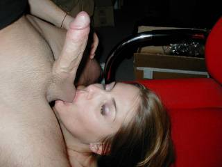 could I suck the cock while she sucked balls ?