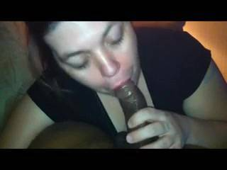 DAMN!!! That ho sucked dick and balls for 15 minutes straight! She ain't playin'! I need to feed that bitch too!