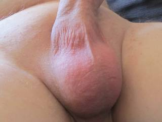 My just shaved cock and balls