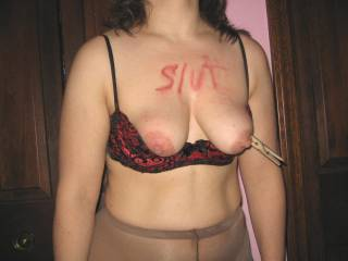 don't waste the pins, I would love to bite for you!!great titties!