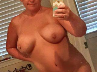 LOVE Your hot milf body  my first jack off today is you