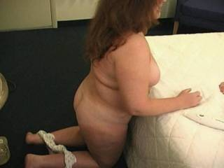 My wife kicking her panties off getting ready to have some fun with another couple