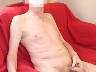 My foreskin is rolled back a little, would you like to explore the exposed glans with you mouth ?