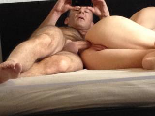 One of my favourite self made anal pics ever, Althhough tight it looks effortless somehow.