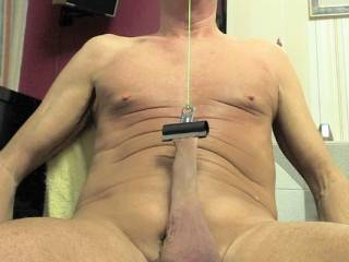 Like to keep my foreskin in shape by making sure it is able to stretch over any large cock that comes along !