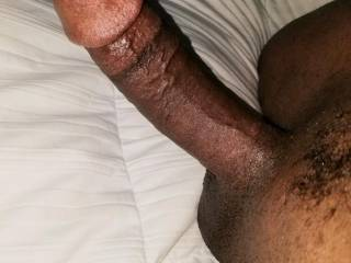 Hard...I\'m ready to fill your throat and pussy