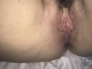 Her pussy is ready to be eaten...