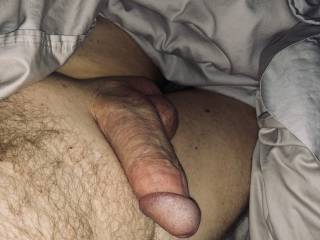 Early morning dick pic.