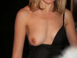 Nicky, your tits are perfection! Even just one... Soooooooo nice - Would love to suck!