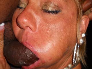 wow. wish I could get some of that action. I want some guy to watch his woman sucking on my cock. I'm coo with watching someone stuff theirs in my wife's mouth