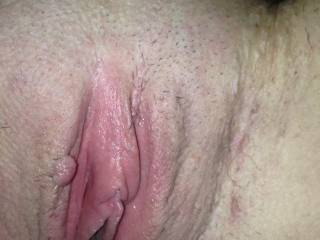 I love getting her off by licking her tight smelly pussy
