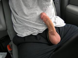 Lick and suck those hot balls, lick up that nice shaft, around the head, take it in my mouth as deep as i can and feel your cum hitting the back of my throat