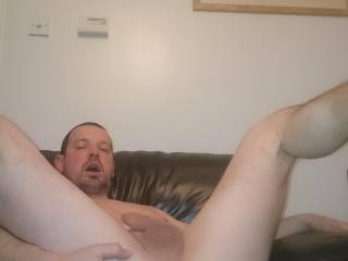 Fucking my ass with a dildo