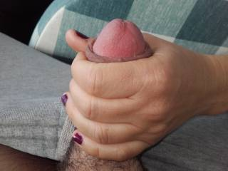 Just a shoot from and amazing handjob from wife, don't miss our video.