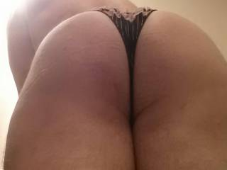 Bent over and ready for you