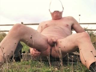 Love getting naked outdoors