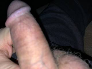 Morning masturbation session