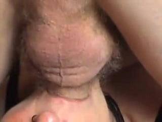 Pumping Cum Down Her Throat