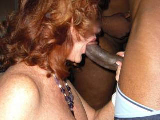 7 guys , 2 horny women makes for a fun night . Want to join us next time ?