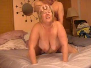 I love to see those tits dance and to be honest stiffdick took the words out of my mouth! I´d love to offer my hard cock to that pretty face!