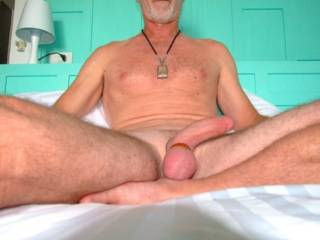 nice cock! I would love to suck it for you some time.