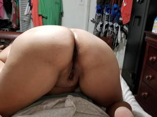I love that all you guys like my ass so I had hubby take a new one