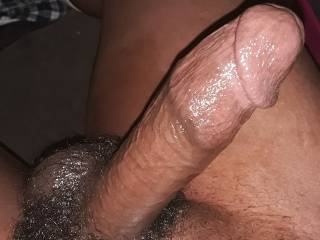 Horny and hard as a rock! Who would fuck or suck this cock?