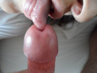 My gf loves to tonguefuck my cock and I love it. Do u ever tried? What do u think about it?