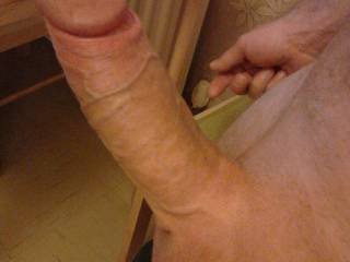 i'll be your cock sucker,ok!! wow to grab that massive uncut sausage and ,well suck the fuck out of it!!