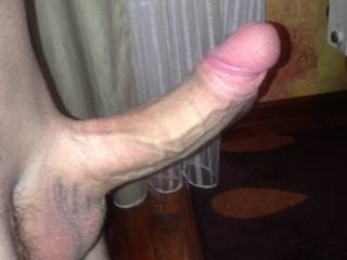 Mmmmm, nice cock! Love to watch you bending my sexy wife over and pounding her sexy cunt with it..