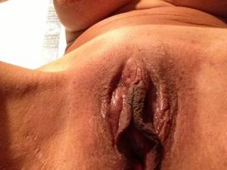 love to get my mouth around those meaty lips x