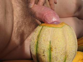lazily introducing my big dick into a juicy fruit-hole ... hey girls, this could be your pussy, ass or mouth! tell me where you want it and what you would do to my dick!!