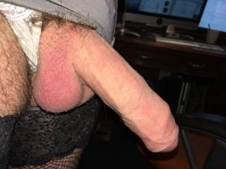 do you think girls and boys like a hard pantied cock? xx Kimmi xx