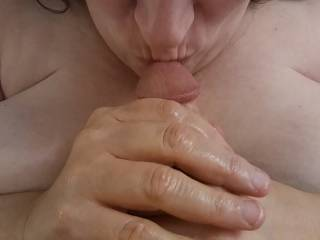 I just love cock! This is one way I show affection for that great cock of my husband. It is mighty fine. Mmm...