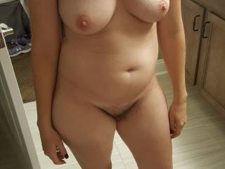 My wife hot panty pic