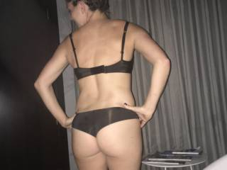 This was a fun night, went shopping for lingerie in Paris.  Bought these and others and headed back to the room to enjoy.  Longest walk home ever :).  Give it a tribute