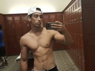 Post-workout selfie