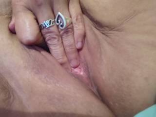 Fingering my pussy