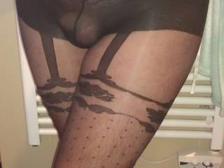 Beautiful, I would love a 3 some with you both, all wearing sexy hosiery and lingerie
