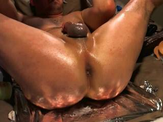 Great vid ! ! I would LUV to see a REAL cock in your Sweet ass ! ! !