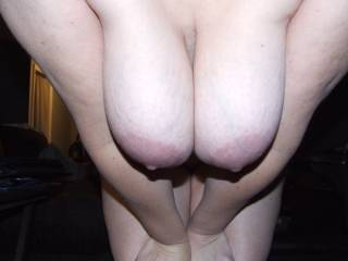 I'd love to cum on them in person.  I'd get you off orally, then I will jerk off and cum on your tits while you play with yourself.
