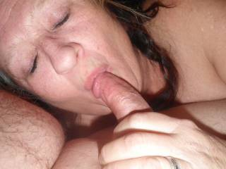 She gives great blow jobs