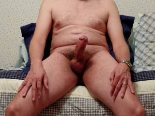 What would you do; play with my hard cock or spank my ass?