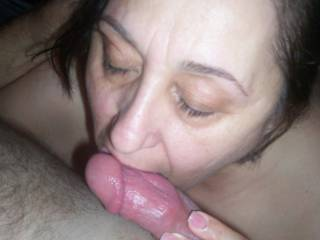 licking the dick