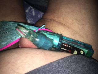 Me and my sexy girlie panties and toys;)